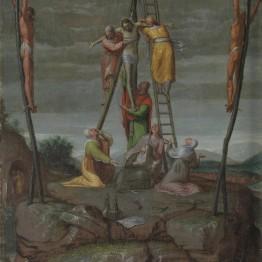 Pedro de Campaña. El Descendimiento, hacia 1570. Madrid, Museo Nacional del Prado. Donación Plácido Arango