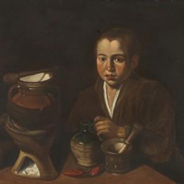 Francisco López Caro. Pícaro de cocina, hacia 1620. Madrid, Museo Nacional del Prado. Donación Plácido Arango