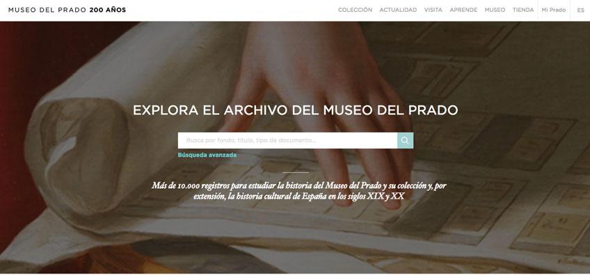 Archivo digital del Museo del Prado