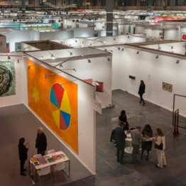 Vista general de ARCOmadrid 2017