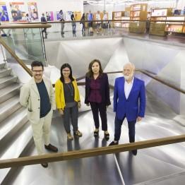 Asier Mendizábal, Han Nefkens y la Galería Elba Benítez, Premios Arte y Mecenazgo