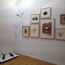 Galería Artizar con obras de Pamen Pereira