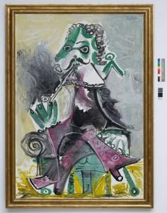 Picasso. Mousquetaire a la pipe, 1968