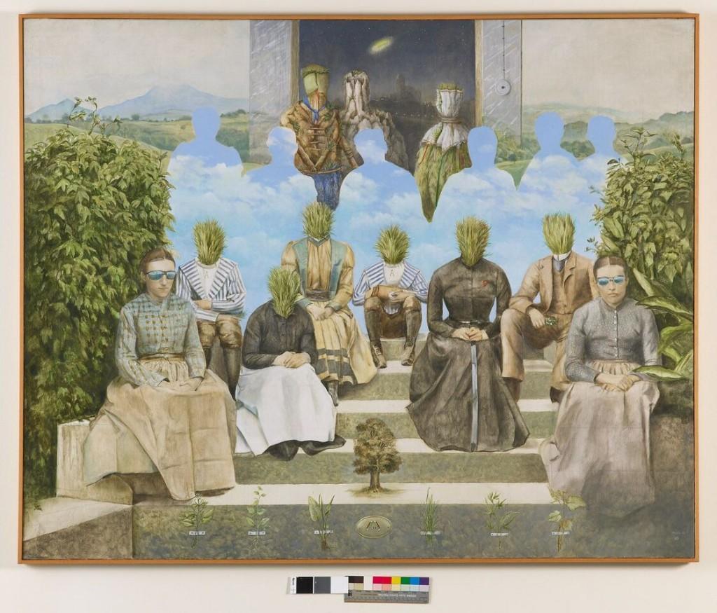 Vicente Ameztoy. Sin título, 1975. Colección ARTIUM