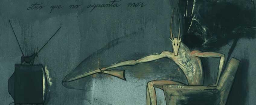 José Bedia en La gravedad de las cosas. ARTIUM