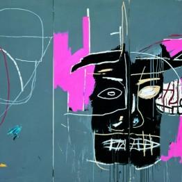 Jean -Michel  Basquiat Beast, 1983. Cortesía de la colección La Caixa Arte Contemporáneo