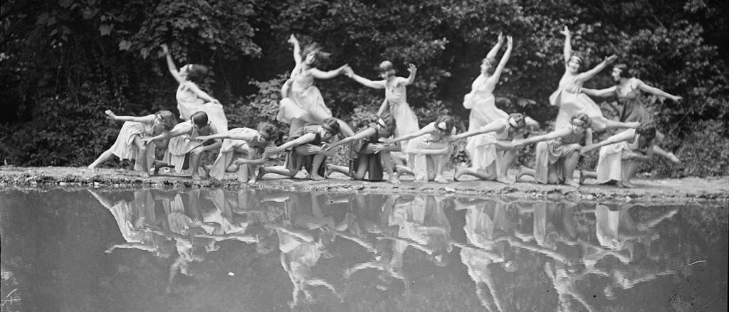 Harris & Ewing. Danza, 1924. Washington, Library of Congress