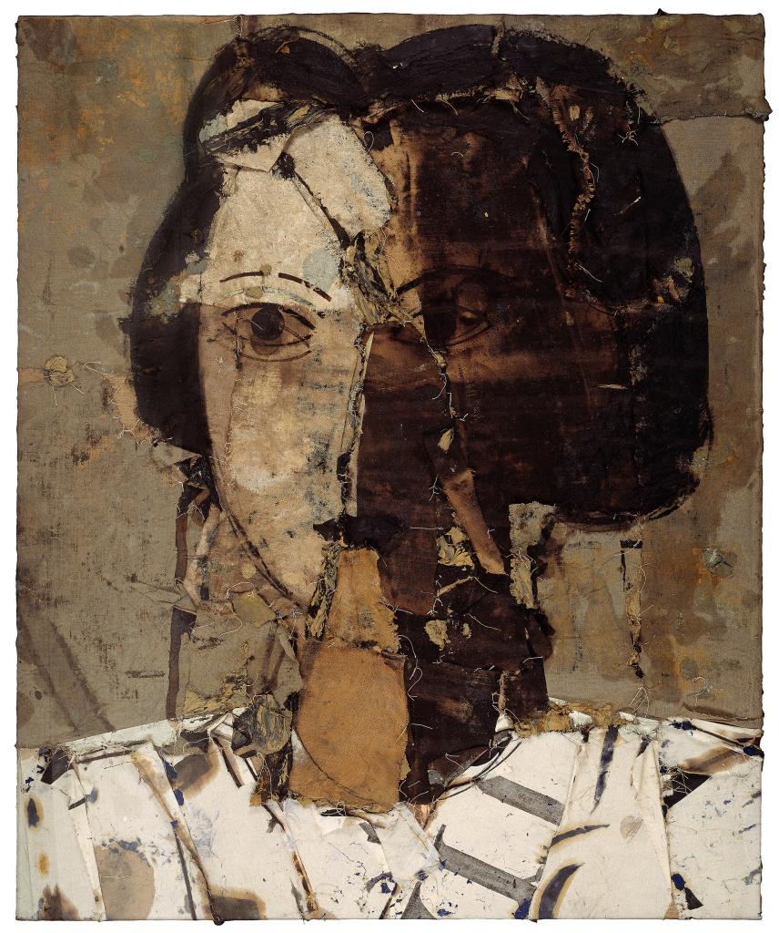 Manolo Valdés. Retrato en grises