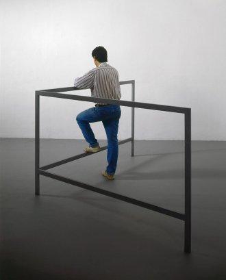 Pistoletto. The Minus Objects. Struttura per parlare in piedi, 1965-1966