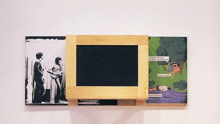 Txomin Badiola. Bañiland 6, 1990-1992. Colección A. Trullenque