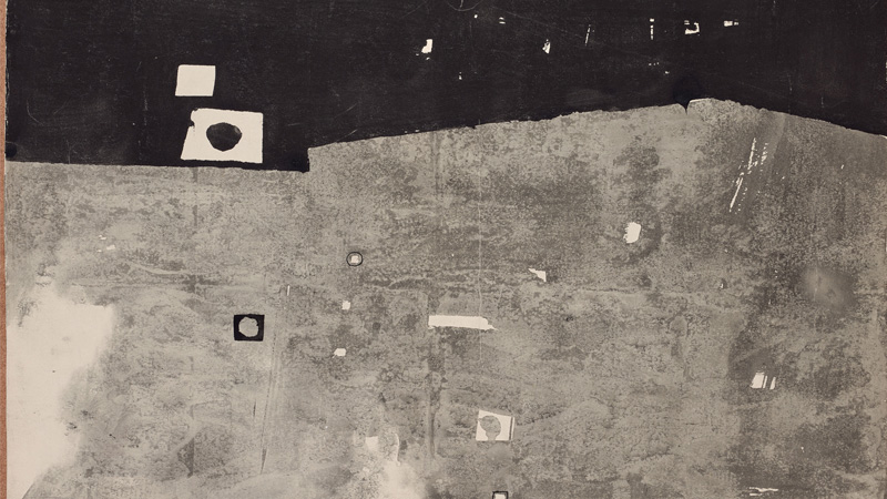 Manolo Millares. Sin título, ca. 1956