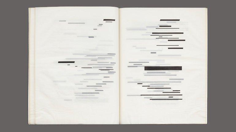 Marcel Broodthaers. Un coup de dés jamais n'abolira le hasard, 1969. MoMA