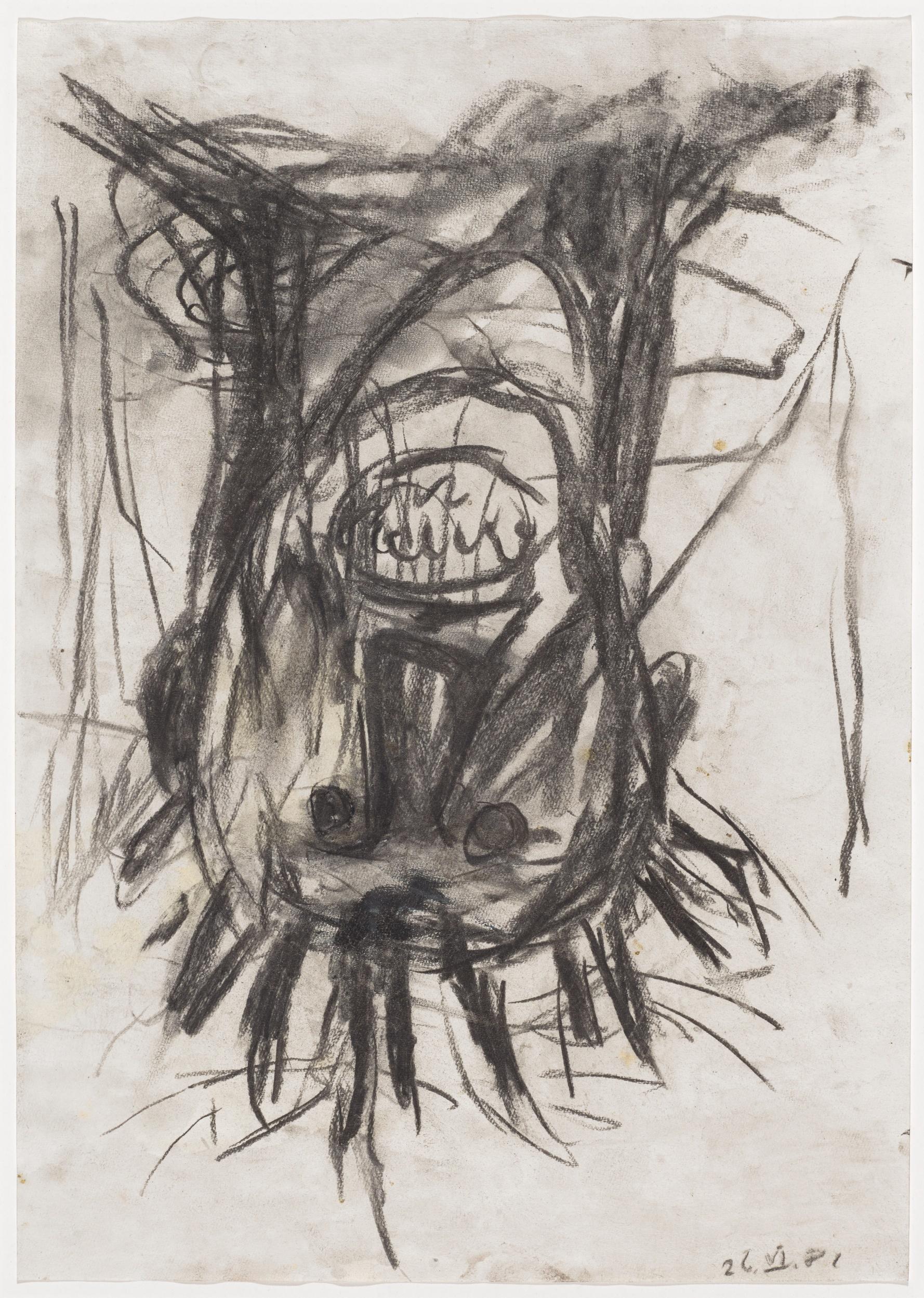 Georg Baselitz. Kopf, 1981. Kunstmuseum Basel