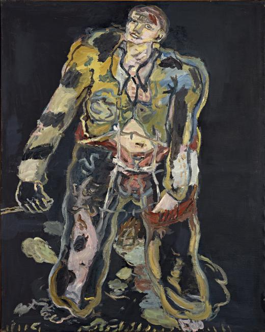 Georg Baselitz. Rebelde, 1965