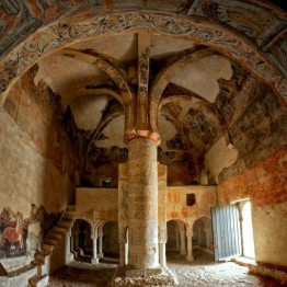 San Baudelio de Berlanga. Interior