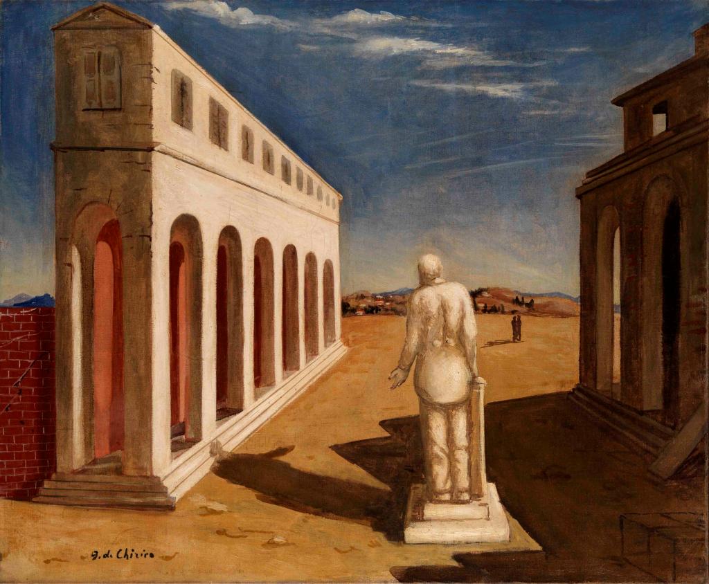 Giorgio de Chirico. Piazza d´Italia (Souvenir d´Italie), 1924-1925. MART Trento e Rovereto