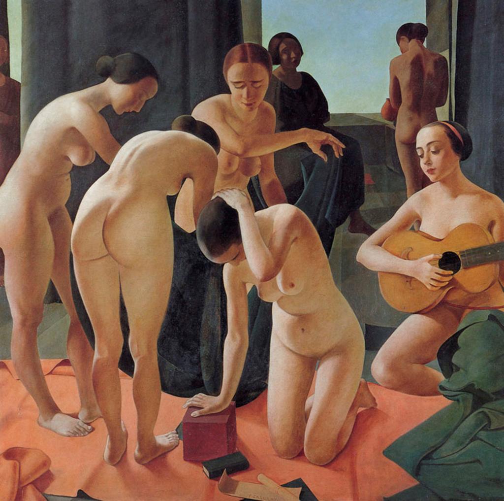 Felice Casorati. Concerto, 1924. RAI, Direzione Generale, Turín