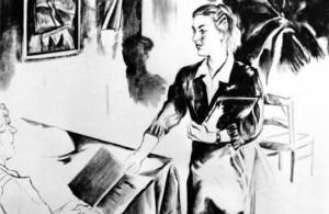 Marta Beltrán. La vendedora de fósforos