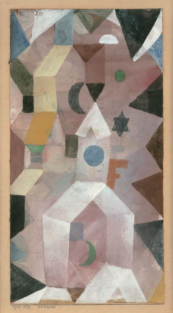 Paul Klee. The Chapel, 1917