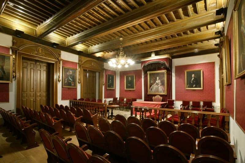 Casa de los Lujanes (Academia de Ciencias Morales y Políticas)
