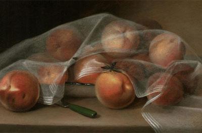 Raphaelle Peale. Covered Peaches