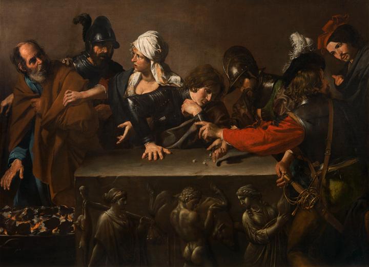 Valentin de Boulogne. Denial of Saint Peter, ca. 1615–1617. Fondazione di Studi di Storia dell'Arte Roberto Longhi, Florencia