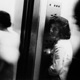 Robert Frank. Elevator. Miami Beach, 1955