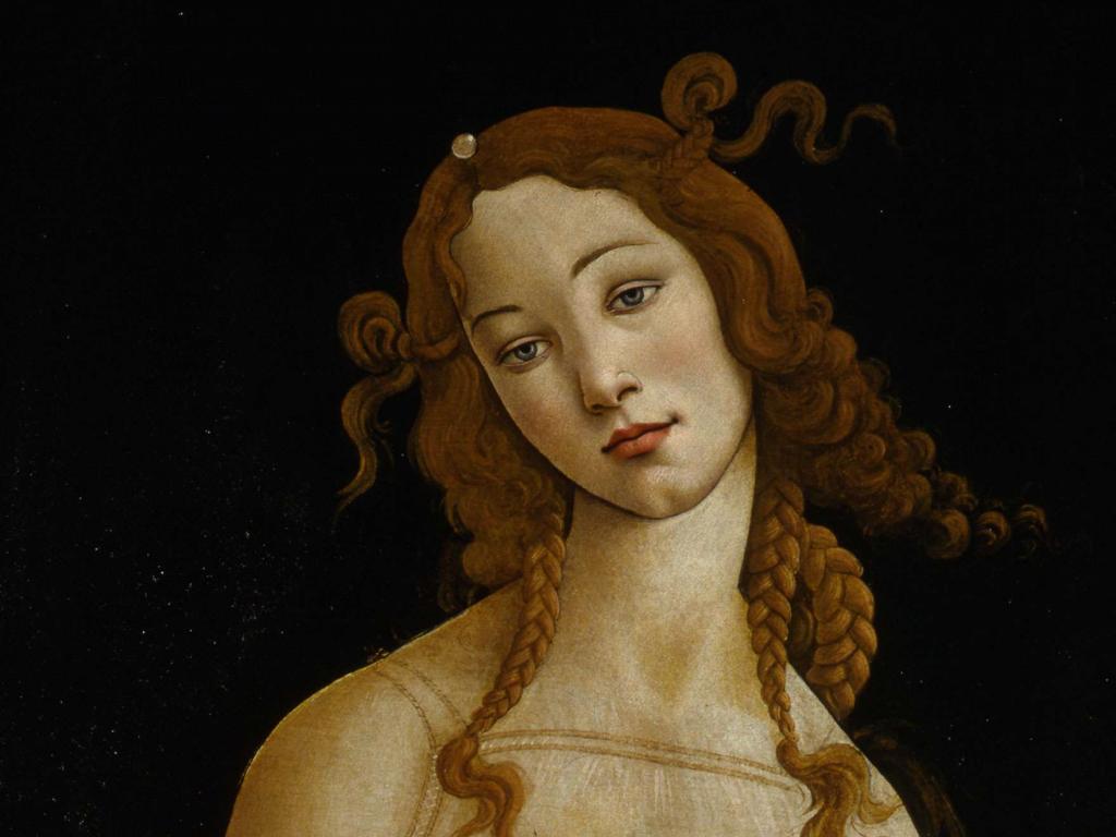 Sandro Botticelli y taller. Venus, hacia 1484-1490. Galleria Sabauda, Turín