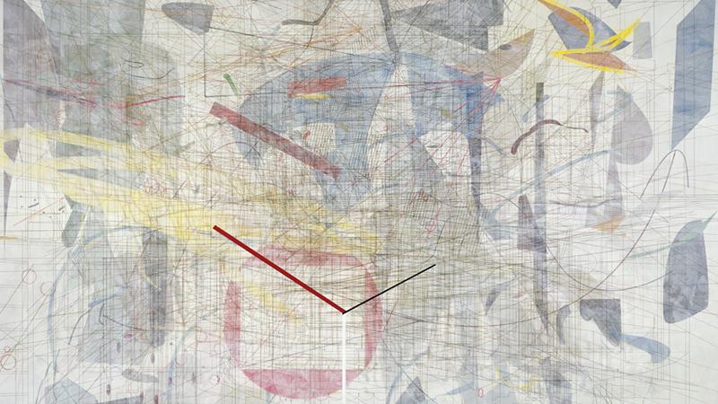 Julie Mehretu. Plover´s wing, 2009. Cortesía de la artista y Marian Goodman Gallery, Nueva York. © Julie Mehretu
