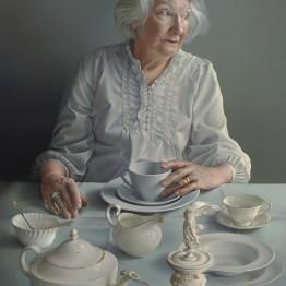La artista española Miriam Escofet obtiene el BP Portrait Award 2018