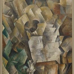 Georges Braque. Piano y mandora (Piano et mandore), invierno de 1909–1910