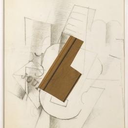 Georges Braque, Guitarra (La Guitare), 1912