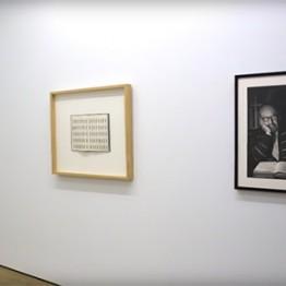 Xavier Valls en la Galería Fernández-Braso