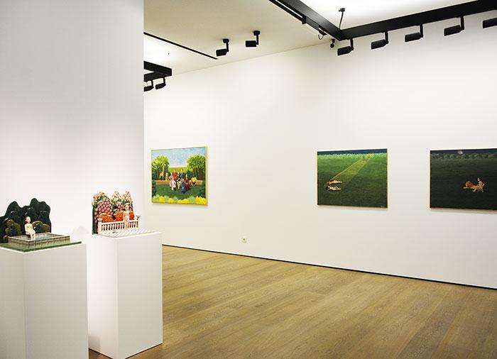 """Isabel Villar. """"Pinturas 1970-2017"""" en la Galería Fernández-Braso"""