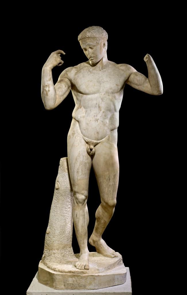 Escultura de Diadumeno © of the Trustees of the British Museum