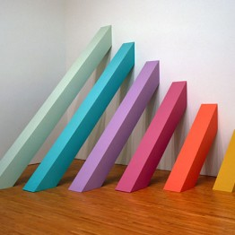 Judy Chicago. Rainbow Pickett, 1965/2004