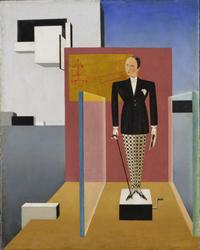 Sandor Bórtnyk. El nuevo Adán, 1924. Galería Nacional de Hungría