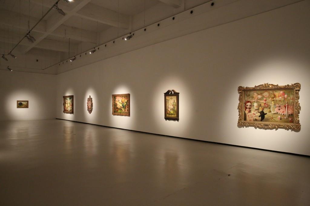Mark Ryden. Vista de Cámara de las maravillas en el CAC Málaga