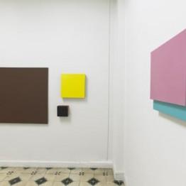 Teo Soriano. Pinturas y ensamblajes. Galería Guillermina Caicoya