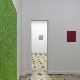 Pinturas y ensamblajes. Teo Soriano en Guillermina Caicoya