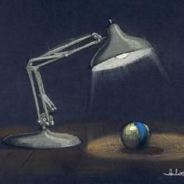 John Lasseter. Lámpara Luxo (Lamparita, 1986) © Disney/Pixar