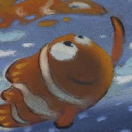 Ralph Eggleston. Dibujo de secuencia: excursión (Buscando a Nemo, 2003) © Disney/Pixar