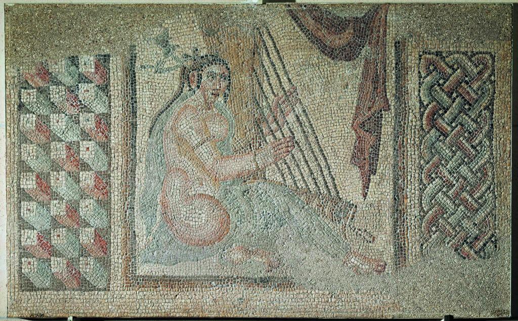 Arpista, 2000-1800 a.C. Eshnunna, Irak. Musée du Louvre. © RMN-Grand Palais, Musée du Louvre. Foto: Hervé Lewandowski