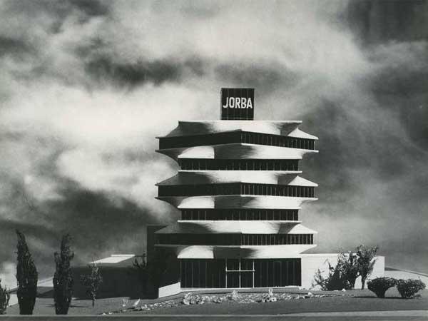 C. Jiménez. Sede de los Laboratorios JORBA, Madrid, 1965 — Miguel Fisac Serna. Copia de época — Fundación Fisac
