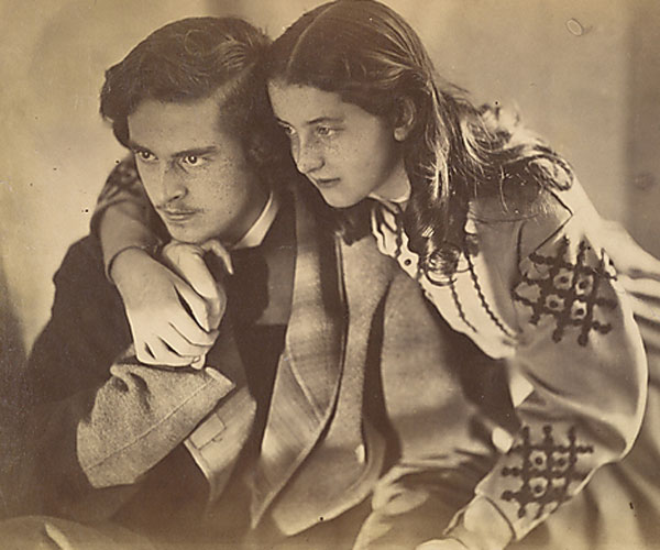 Julia Margaret Cameron. Mr. and Miss Constable, 1866