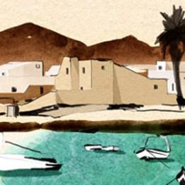 #ONTHEDRAW: Canarias como paraíso ilustrado