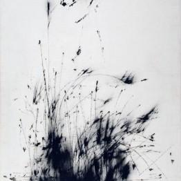 Fernando Zóbel. Saeta con hierba, trigo y sol, 1959