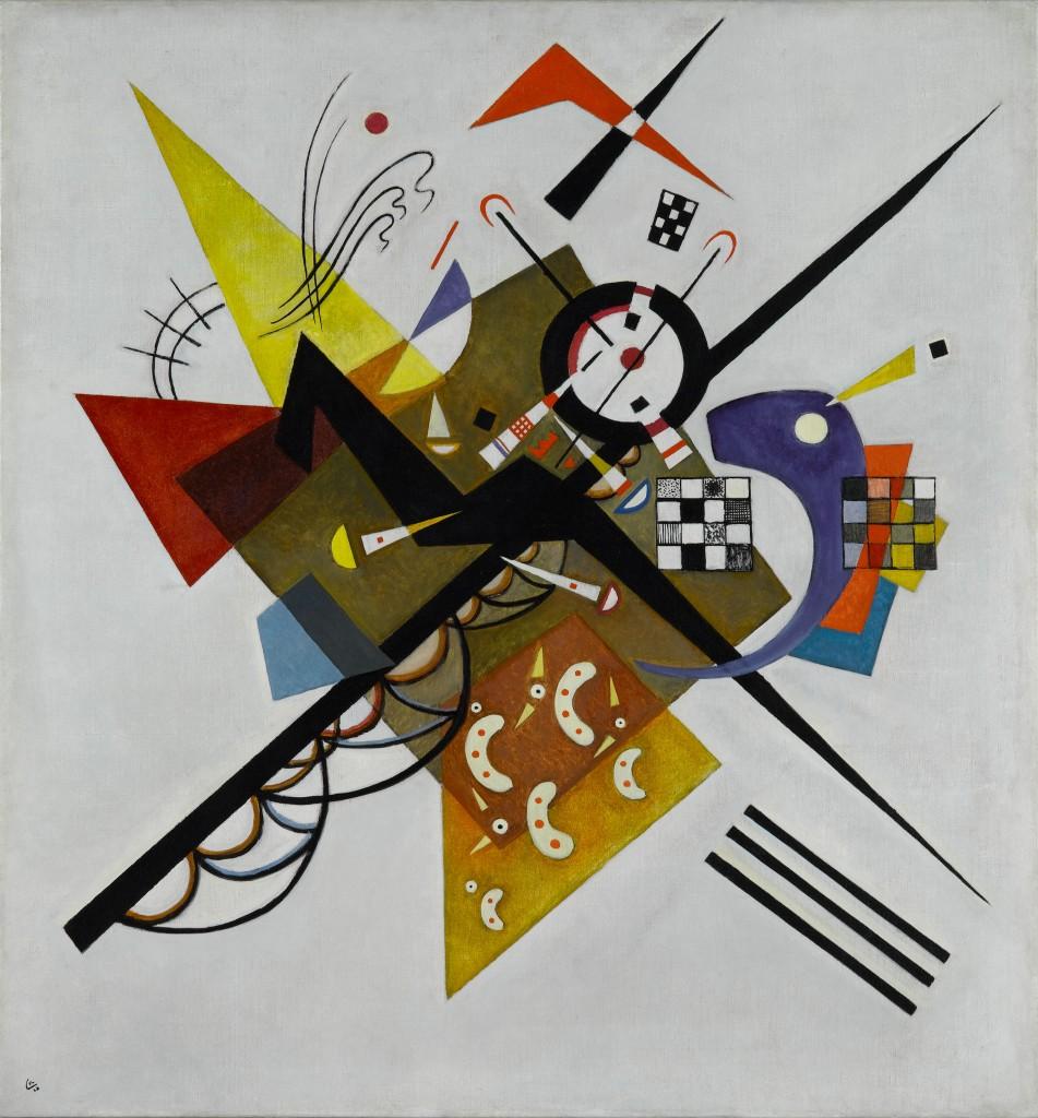 Wassily Kandinsky. Auf Weiss II (En blanco II), 1923