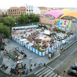 Las palomas y las formas urbanas de Madrid