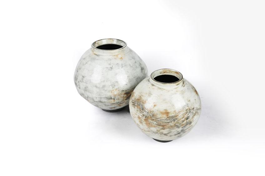Lee Kanghyo. Moon Jar. Cerámica contenporánea coreana